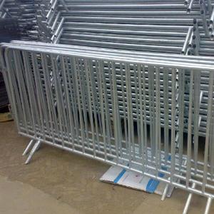 Safety Traffic Construction Pedestrian Crowd Control Barriers/Temporary Barrier Fence