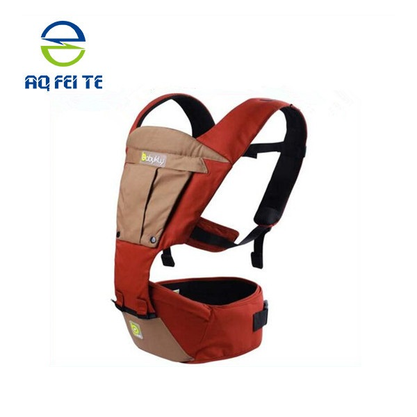 Multifunctional front and back baby carriers,Ergonomic design baby carriers,100% Oranic Cotton baby walker with canopy