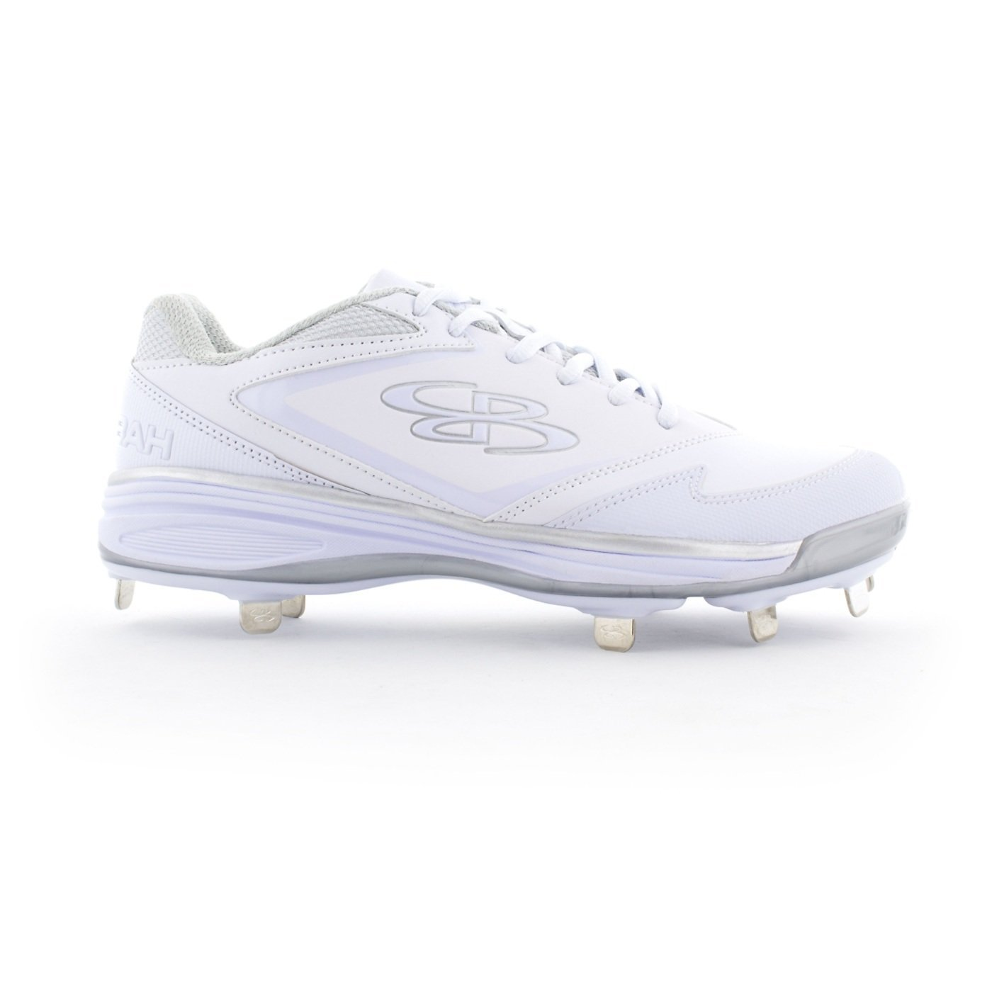 8ece1b5cc54 Get Quotations · Boombah Women s A-Game Metal Cleats - 6 Color Options -  Multiple Sizes