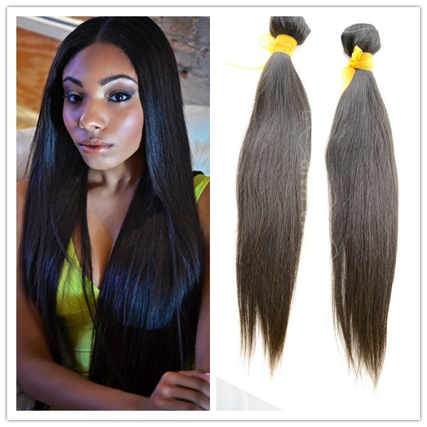 hot human hair for 2015 virgin brazilian unprocessed hair light brown straight weave