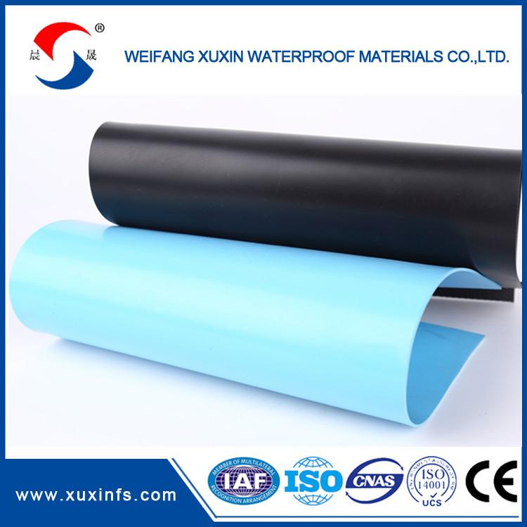 Reinforced Pvc Waterproof Roof Membrane Manufacturer In