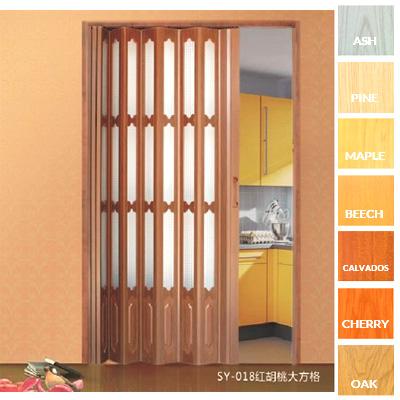 convenable conception pvc en plastique int rieur portes pliantes l ger porte pliante pvc porte. Black Bedroom Furniture Sets. Home Design Ideas