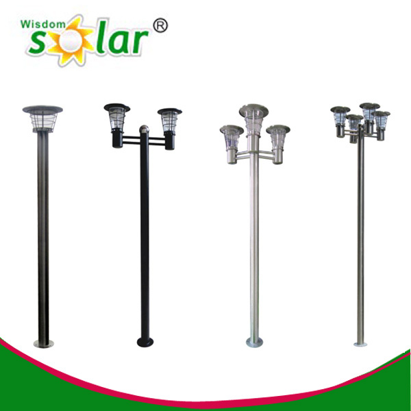 Outdoor Solar Lights Parts: Best Seller Outdoor Lamp Post Parts,Solar Lamp Post