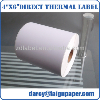 Good quality 4x6 inch thermal transfer label