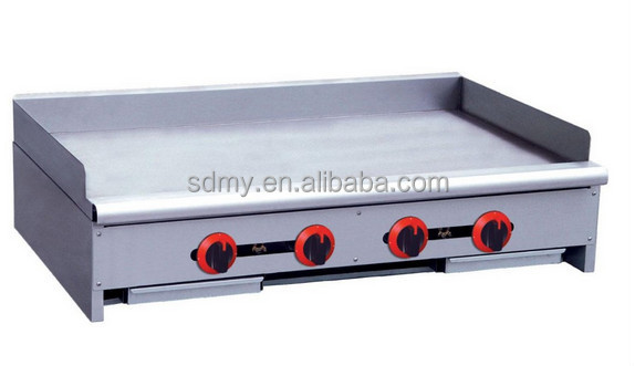 Gas Stove Griddle Plate ~ Commercial gas hot plate griddle with cabinet