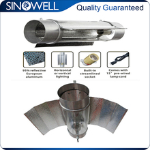 Hydroponic Equipment Industry Top 3 Manufacturer Highly Reflective Aluminium Wing Cool Tube Grow Light Reflector