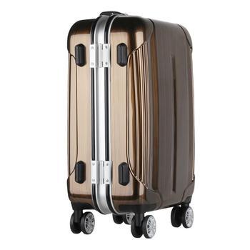 5c4a4bb9c En stock cáscara dura maleta embarque equipaje del aeropuerto film  estirable máquina de embalaje PC aluminio