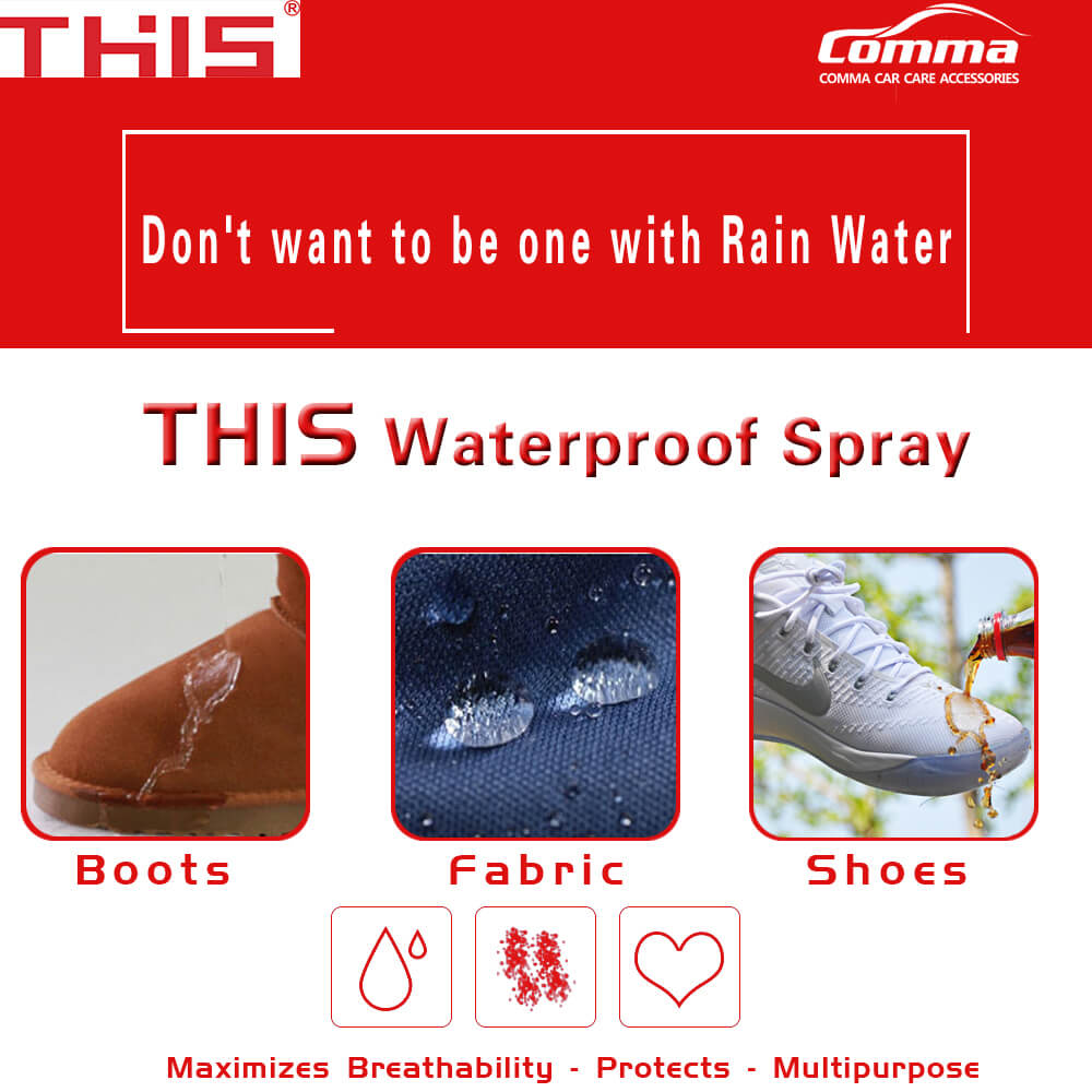 Professional fabric textile shoe protector multi purpose water repellent spray super nano hydrophobic spray