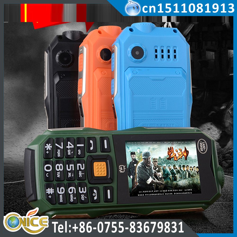 C12 cheap mobile phones made in china with tv dual sim standby FM Bluetooth MP3/MP4 torch light 10800 mah