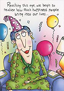 Buy Bring Happiness Into Our Lives Funny 65th Birthday Card In Cheap Price On Alibaba Com