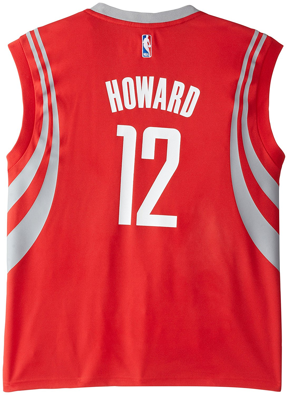 4e466d2409c Get Quotations · Houston Rockets Dwight Howard #12 NBA Mens Replica Jersey,  Red