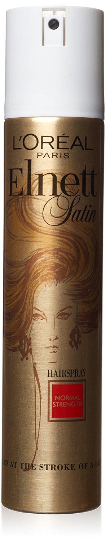 L'Oreal Elnett Satin Normal Strength Hair Spray for Unisex, 6.7 Ounce
