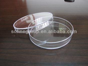 Plastik Sekali Pakai Cawan Petri Untuk Laboratorium Menggunakan