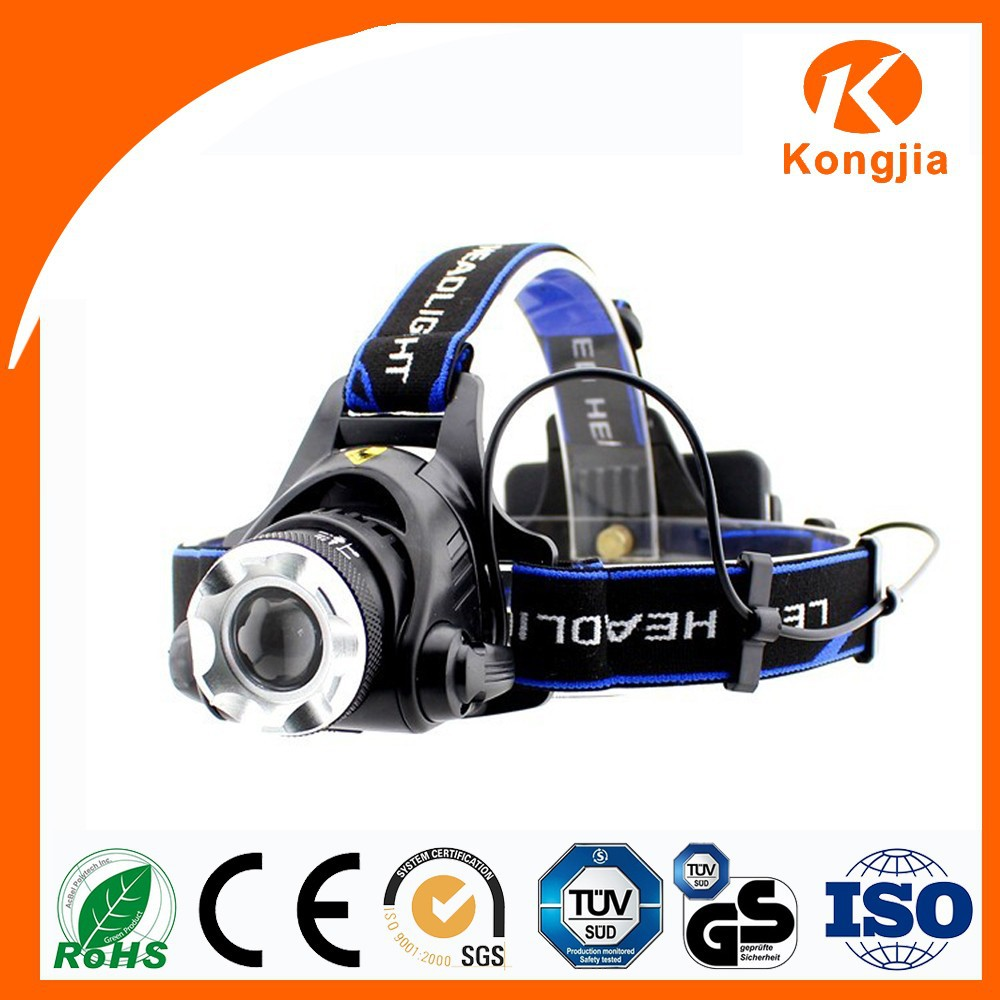 10w Aluminum Alloy Led Headlamp Rechargeable Emergency Torch ...