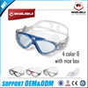 Colorful best waterproof advanced swim glasses anti fog swimming goggle