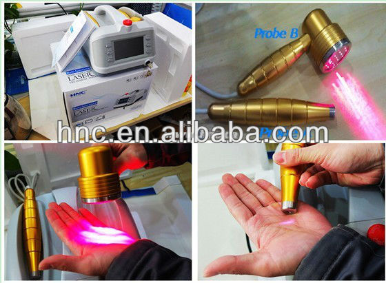 650nm laser therapy device Physiotherapy and Rehabilitation products 2014 Hot sale laser handy cure