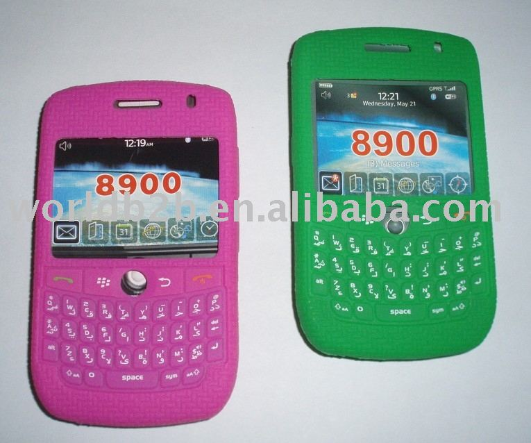 Silicon Case/Smart Skins for BlackBerry Curve 8900 (new)