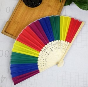 Party Use Hand Made Plastic Foldable Lace Hand Fan for wedding