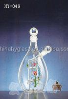fruit and vinegar decoration bottle / oil and vinegar bottles decorative / decorative fruit and vegetable bottles