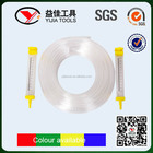 Low cost 8mm square tube PVC ground scaled water level hose YJ-PL03