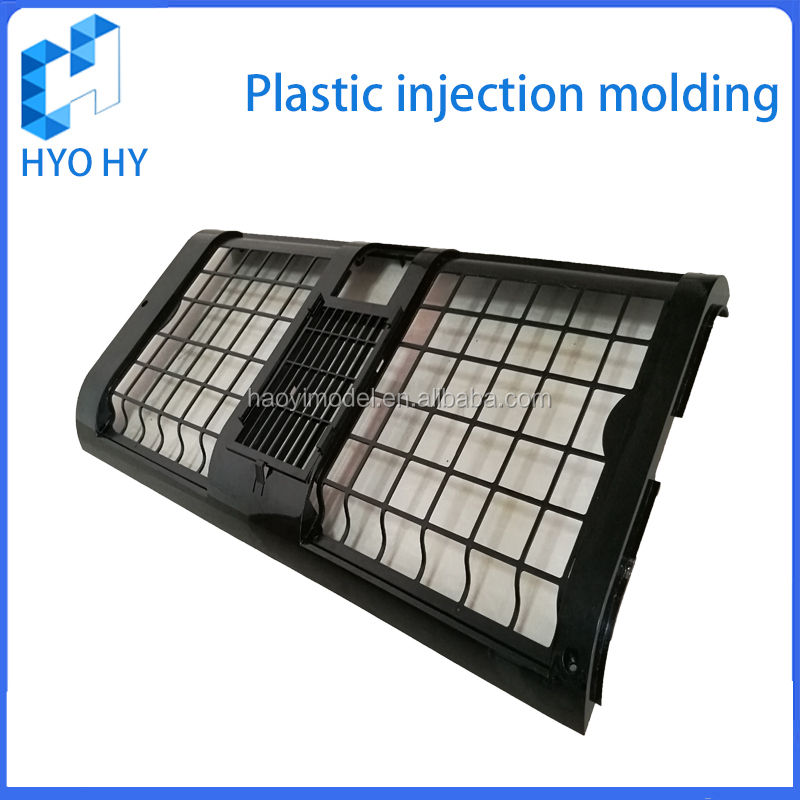 Custom Mobile air conditioning side panels plastic injection molding large parts
