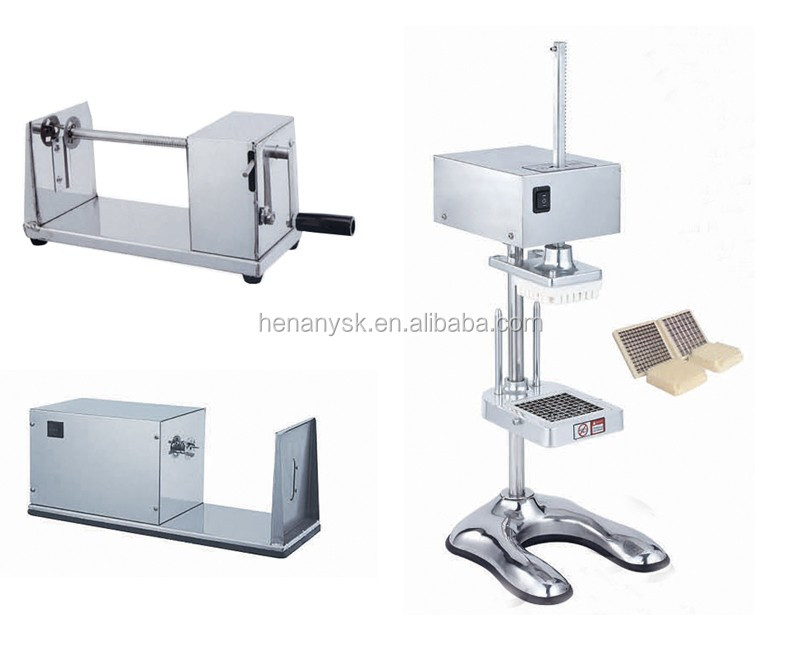 IS-H001 2017 Durable Manual Slicer for Cucumber Spiral Potatoes Plantain Chips Slicer for Sales