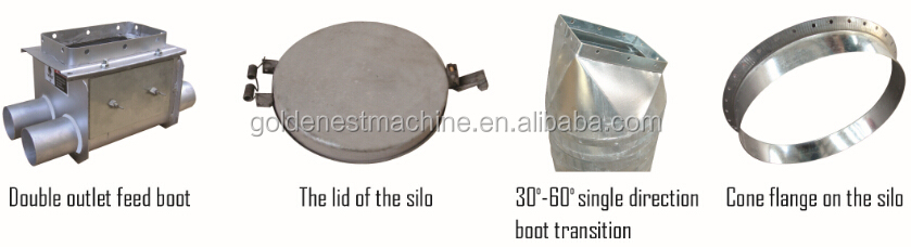 Fiberglass Feed Silo and Feed Pit Hopper Good quality
