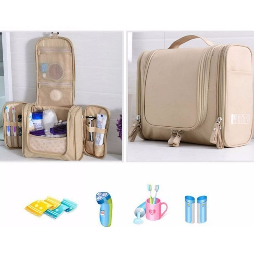 Travel accessories Travel Hanging Makeup Case Toiletry Cosmetic Wash Bag Purse Zipper Organizer Bag travel kit