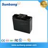 Small rechargeable high storage 12v 24ah battery for solar system
