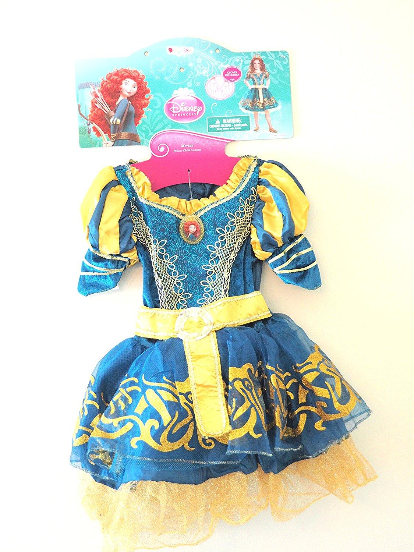 Disney Princess Merida Brave Deluxe Child Costume dress 3T - 4T XS
