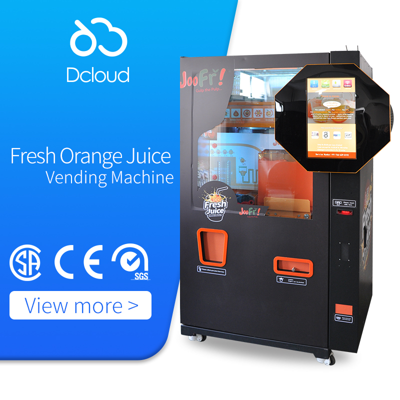 Fresh Orange Juice Squeezing Vending Machine Business Brands With Lcd Nfc Buy Vending Machine Business Vending Machine Brands Vending Machine