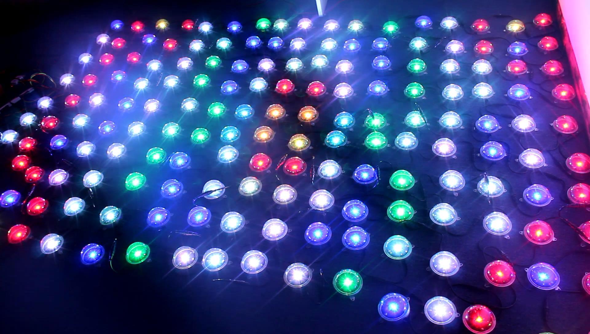 Dmx Led Rgb Pixel Lighting Dv12 24v High Dot Light Matrix Nightclub Lights