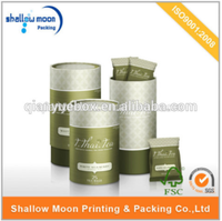 wholesale high quality eco-friendly packaging for loose tea