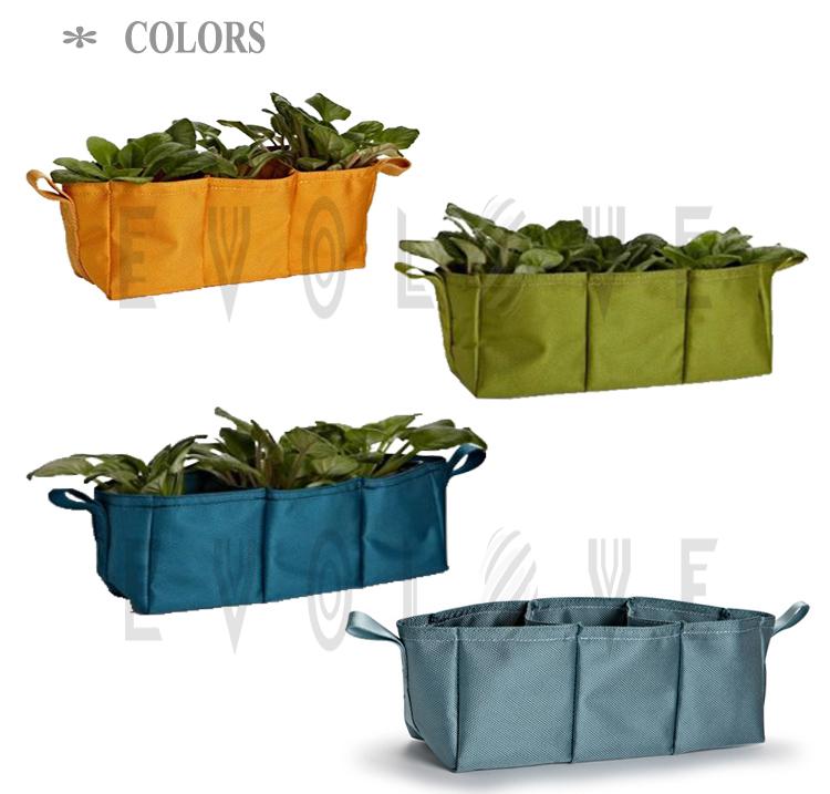 DIY grow bag for plants