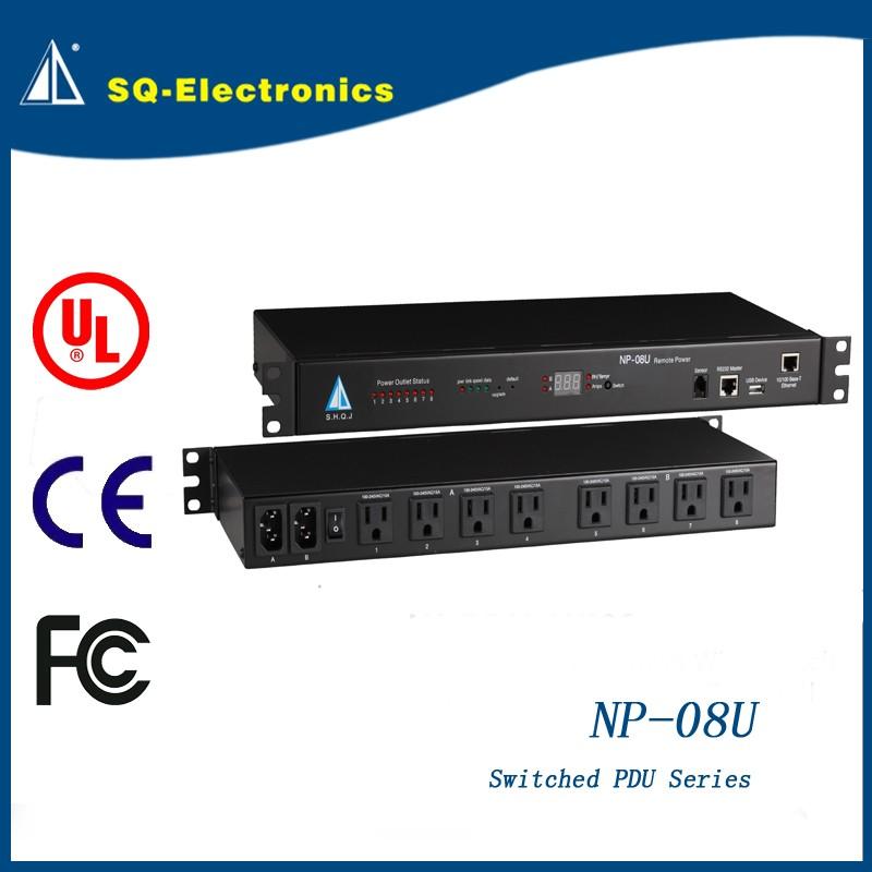 Smart PDU 8U Intelligent U003cstrongu003epoweru003c/strongu003e Socket U003cstrong