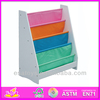 2015 New wooden kids book shelf toy,popular children wooden book shelf set and hot sale colorful baby wooden book shelf W08C042