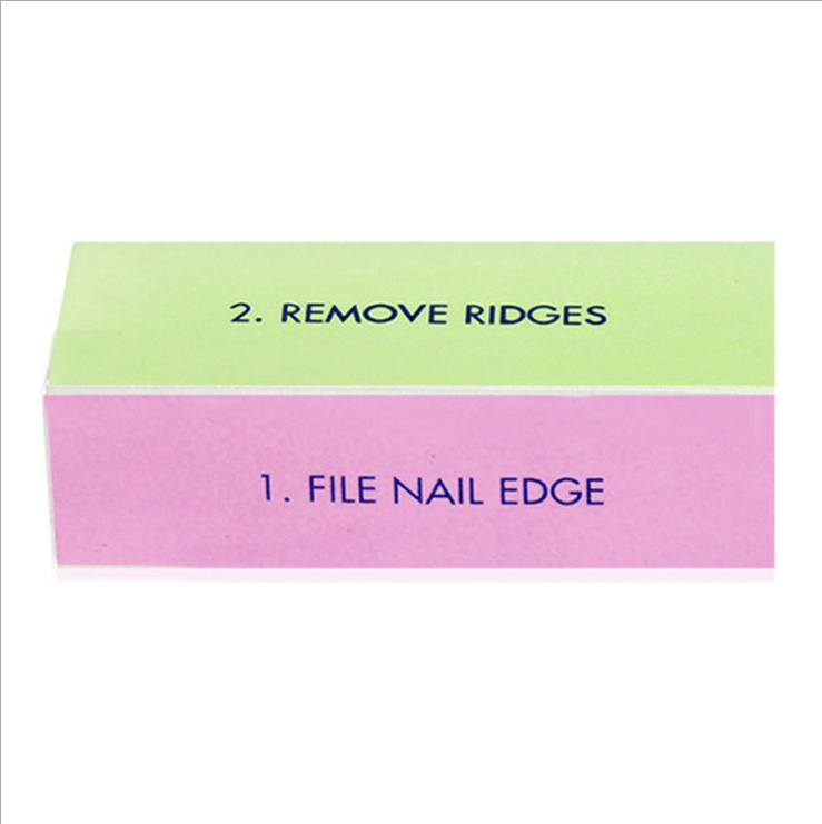 B freeshipping Art Tools 4 Sides colorful High Quality New Shape Buff <strong>Nail</strong>