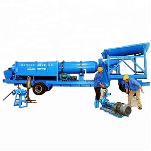 China Small Scale Gold Mining Equipment / Mobile Gold mining machinery