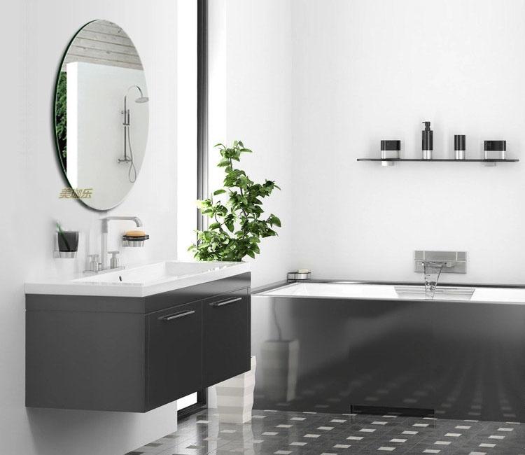 Frameless high definition bathroom mirror bathroom mirror ...