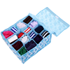 Household Waterproof Fabric Home Folding Divider Storage Boxes For Underwear Tie Sock Bra