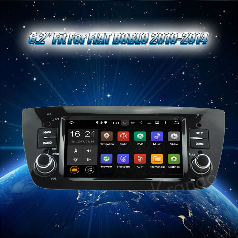 for fiat doblo car gps navigation