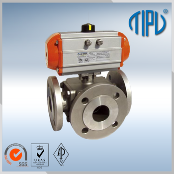 High Pressure Pneumatic Actuator Marine Ball Valve With Multiple ...