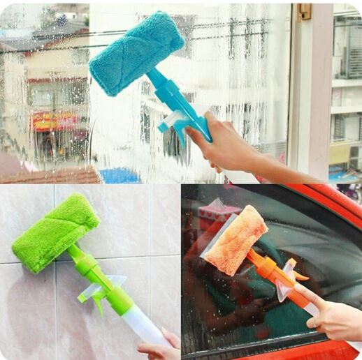 Hot sale Washing brush Magic Spray cleaning brush glass wiper window clean shave