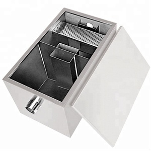 Stainless Steel Automatic Kitchen Grease Trap for Waste-water Oil Filter in Malaysia/Commercial Kitchen Oil Remove