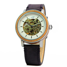Shenzhen Quality Mechanical Watches With Visible Automatic Movement