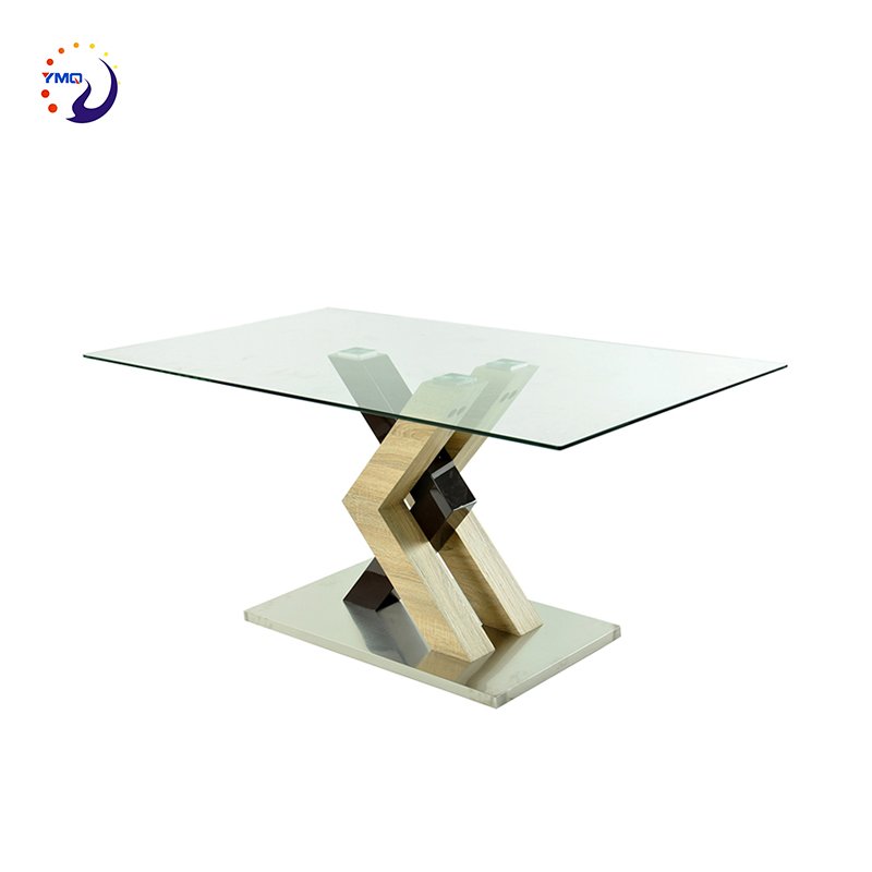 China product living room furniture glass dining <strong>table</strong> MDF <strong>table</strong> for dining room