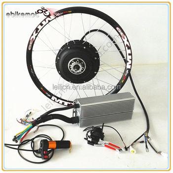 High speed 3000watts electric motor hub 3kw hub motor 48v for 3kw brushless dc motor