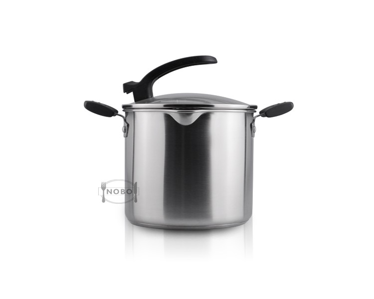Good quality colorful stainless steel casserole with different sizes