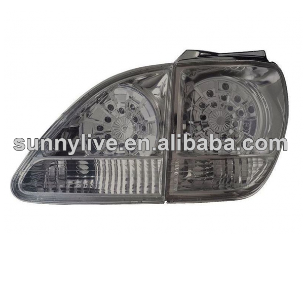 Lexus Rx300 2001-2003 Rear Lamp Ty851-bewe4-2 All Smoke Lens