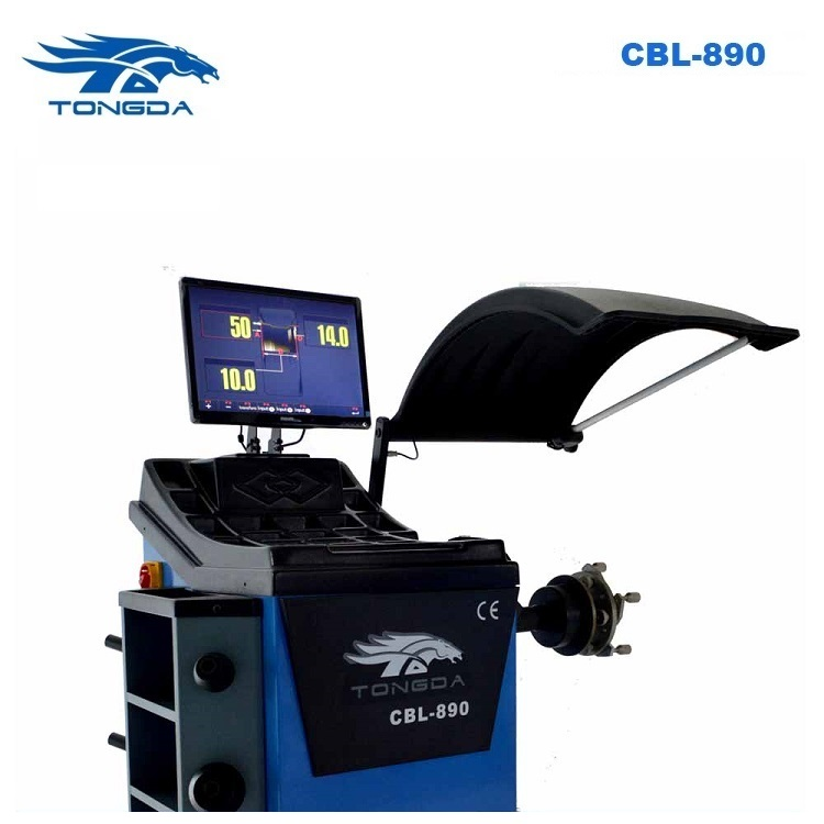 2017 Tongda CBL-890 with Laser unit Self calibration Automatic gauge CE Wheel Balancing machine
